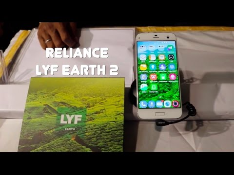 Reliance LYF EARTH 2 First Look Video
