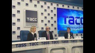 Пресс-конференция Алексея Лаврова и Татьяны Демидовой