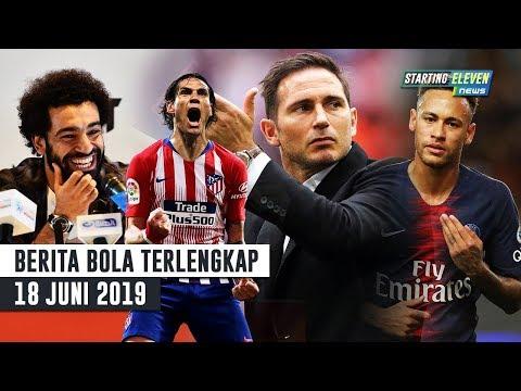 Lampard Setuju Latih Chelsea 👍 PSG Jual Neymar 😱 Mo Salah Tinggalkan Liverpool  (Berita Bola)