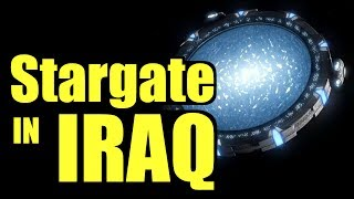 Discovered: the Stargate in Iraq - real Stargate portal, Iraq Stargate conspiracy, Zecharia Stitchin
