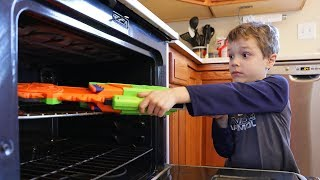 Nerf War:  Hide Your Weapon