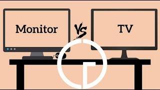 TV vs Monitores - Cual es mejor para tu consola?