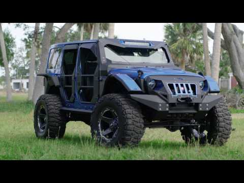 Fab Fours Jeep Wrangler | GD4 | GRID Off-Road