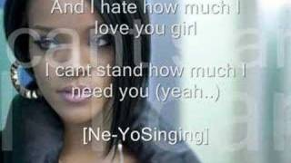 Rihanna Ft NeYo  -  I Hate How Much I Love You (With Lyrics)