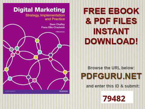 mp4 Digital Marketing Strategy Implementation And Practice Dave Chaffey, download Digital Marketing Strategy Implementation And Practice Dave Chaffey video klip Digital Marketing Strategy Implementation And Practice Dave Chaffey