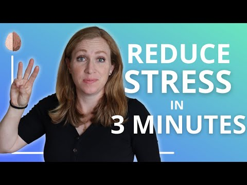 3-Minute Stress Management: Reduce Stress With This Short Activity