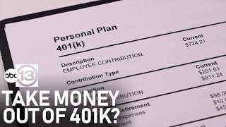 Should you take money out of your 401K during COVID-19 hardships?