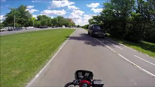 Водить по русски, велодорожка. Скутеры для инвалидов. Mobility scooter.