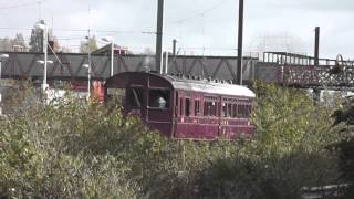 preview picture of video 'GWR Steam Railcar - Southall'