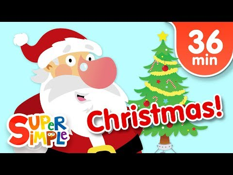 Our Favorite Christmas Songs for Kids   Super Simple Songs