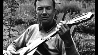 "Pete Seeger-""Two From Shakespeare"" (Full Fathom Five and Perchance to Win)"