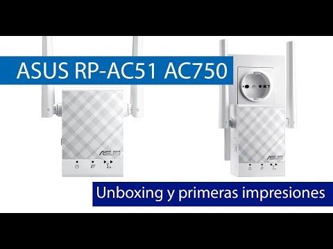 ASUS RP-AC51: Conoce este repetidor Wi-Fi AC750 de pequeño tamaño