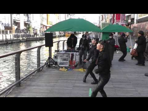 JURI/u0026YUMENO(ゆめじゅり) 『Rolling in the Deep / Adele』@ とんぼりSTREET FESTA in とんぼりリバーウォーク