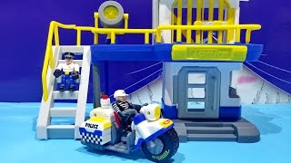 Tonka Town Prison Police Station Playset - Tonka Toys For Children ★ For Kids Worldwide ★