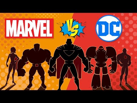 Marvel VS DC - Which is More Successful? Comic Company Comparison