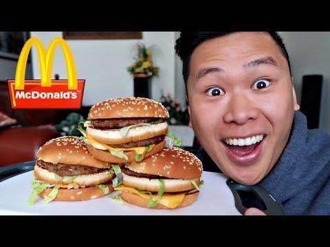 $100 MCDONALD'S SRIRACHA BIG MAC CHALLENGE!!! (WORLD RECORD)