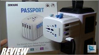 REVIEW: Zendure Passport - Global Travel Adapter!