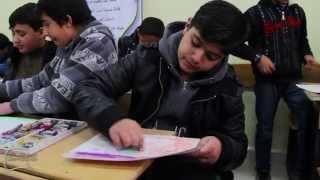 preview picture of video 'ورشة رسم المتحف المتنقل في محافظة معان'