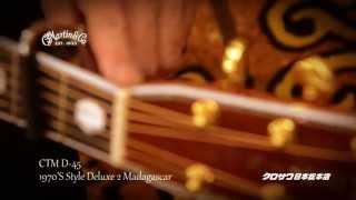 C.F.Martin Guitar CTM D-45 1970'S Style DeluxeⅡMadagascar 【解説動画】
