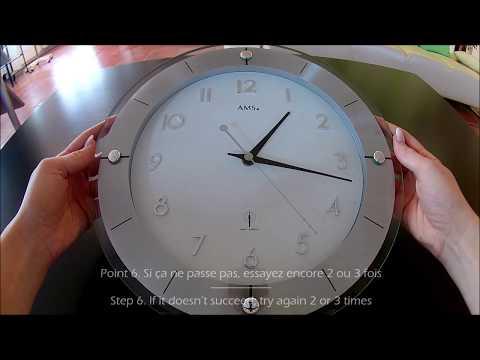6 Schritte Anleitung: Funkuhr Uhrzeit richtig einstellen/ Reset-Funktion