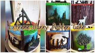 EXTREME HARRY POTTER BIRTHDAY CAKE!
