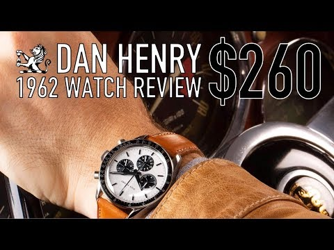 Best $260 Omega Speedmaster Alternative? - Dan Henry 1962 Watch Review