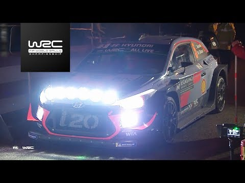 WRC - Rallye Monte-Carlo 2018: TOP 5 Highlights