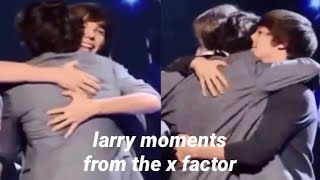 larry stylinson moments (x factor edition)