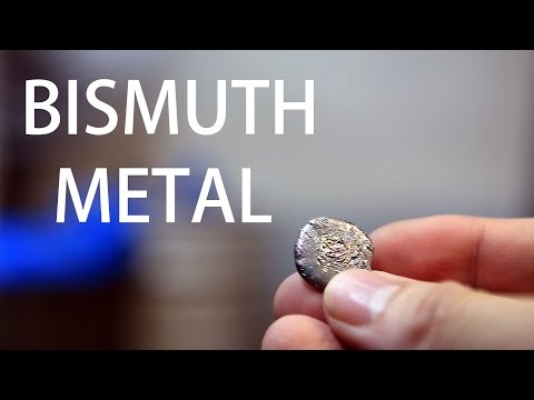How to Extract Bismuth Metal from Pepto-Bismol Tablets