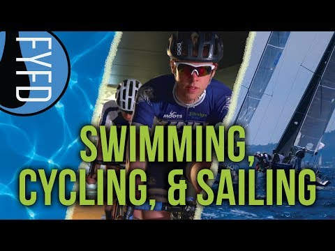 <p>Get your summer sports kick with a peek at some of the latest research on sailing aerodynamics, cycling in groups, and getting that pesky water unstuck from your ear after swimming!</p>