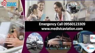 Get 24x7 Hours Air and Train Ambulance Services in Kolkata-Medivic