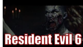 Resident Evil 6 Gameplay Walkthrough - Exciting Intro