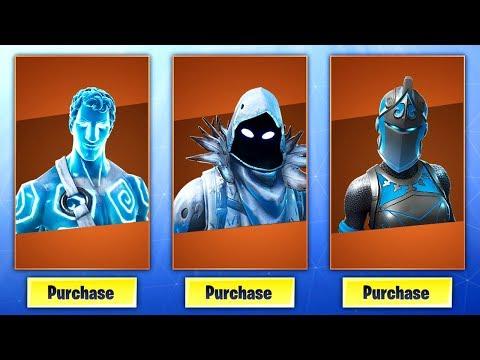 Fortnite New Frozen Legends Starter Pack Bundle New Leaked Frozen