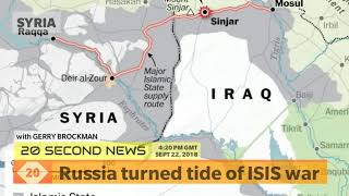 Russia turned tide of ISIS war in Syria - Today's Breaking NEWS