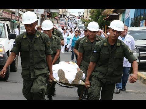 Nicaragua se moviliza en el Segundo Ejercicio Nacional de Preparación para la Protección de la Vida