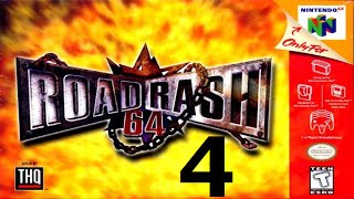 Road Rash 64 - Walkthrough - Part 4 - Another Wrench?! - Video Youtube
