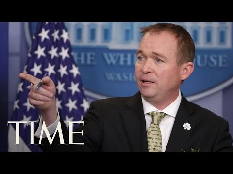 Briefing With Office Of Management And Budget Director Mick Mulvaney | TIME