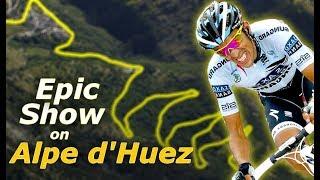 Alberto Contador's Brutal Attack on Alpe d'Huez