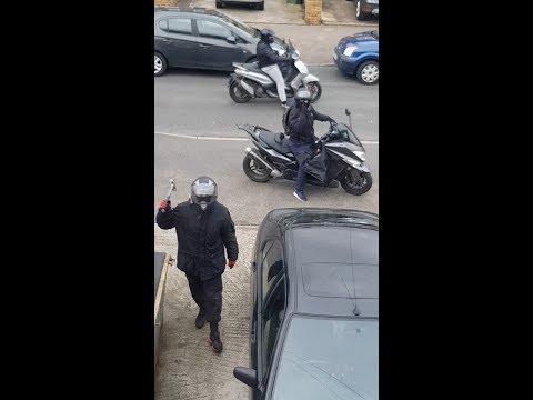 Третья попытка украсть мотоцикл Yamaha MT-07
