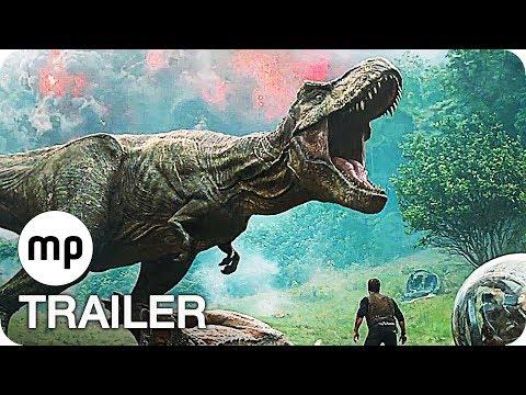 Jurassic World 2 Trailer German Deutsch (2018) Das gefallene Königreich