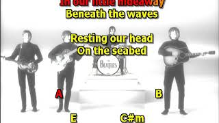 Octopus's Garden Beatles mizo vocals  lyrics chords
