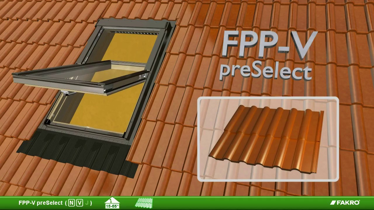 Roof Window Installation - FPP V preSelect tile