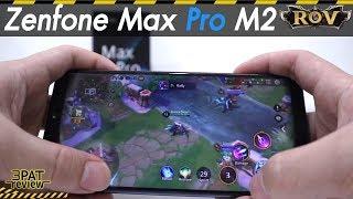    ทดสอบ Asus Zenfone Max Pro M2 เล่น ROV snap 660
