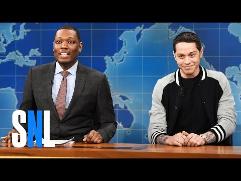 Weekend Update: Pete Davidson's First Impressions - SNL