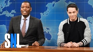 Weekend Update Pete Davidsons First Impressions  SNL