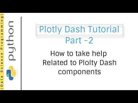 Plotly Dash Tutorial - Working with table and map (Video 04