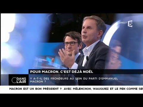 Pour Macron, c'est déjà Noël - Les questions SMS #cdanslair 23.12.2017