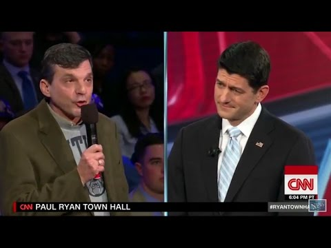 Republican Tells Paul Ryan - Without Obamacare 'I Would Be Dead'