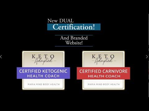 Keto AND Carnivore Health Coach Certification Program! - YouTube