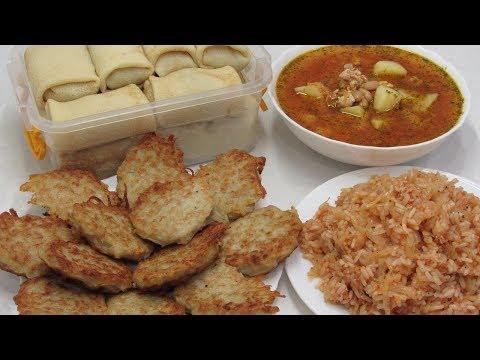 4 блюда из 1кг Фарша или как пережить Карантин (бюджетные рецепты на каждый день) видео